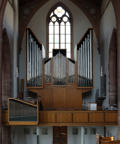 Weigle organ evang. Stadtkirche Nagold (Germany)